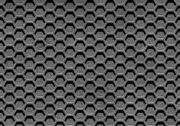 Linee astratte e maglia metallica Foto Premium