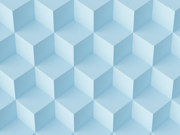 Cubi di mosaico astratto Foto Premium