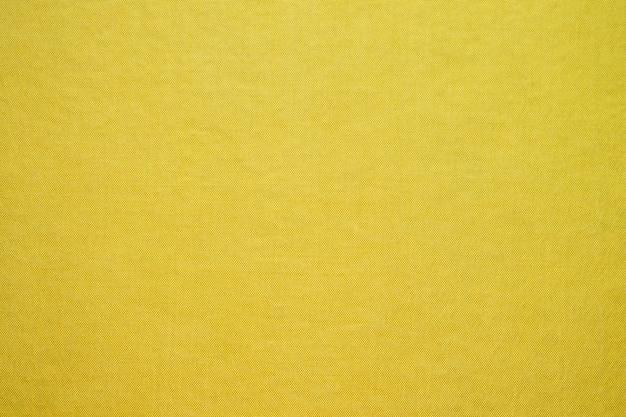 Trama di tessuto giallo astratto Foto Premium