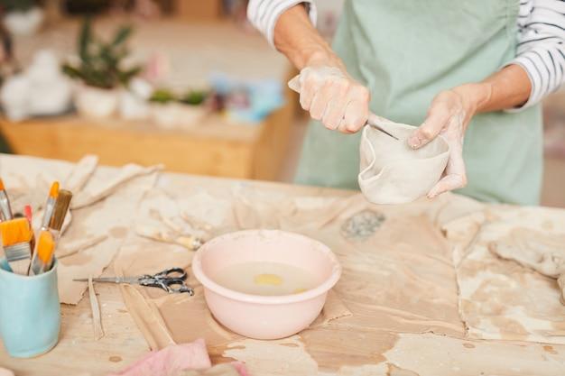 Arte della ceramica Foto Premium