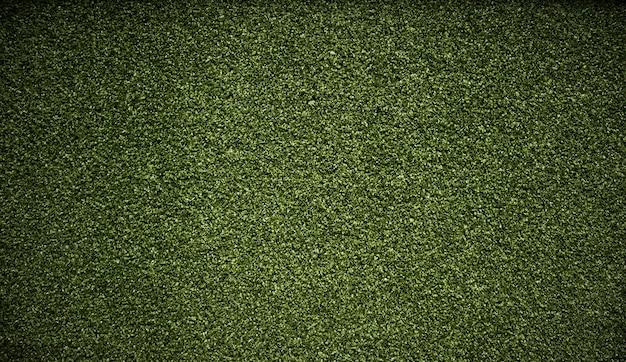 Trama di sfondo erba verde artificiale. Foto Premium