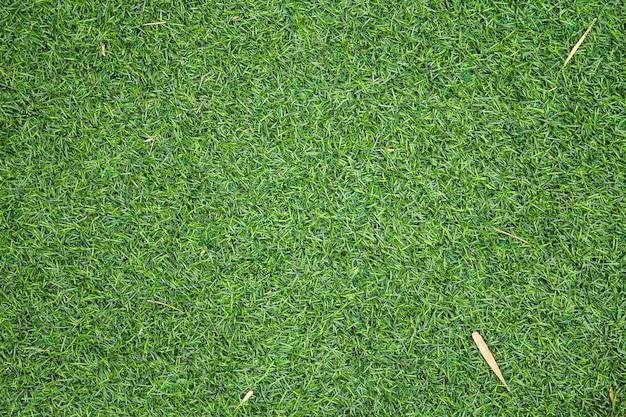 La struttura artificiale dell'erba verde può essere utilizzata come sfondo Foto Premium