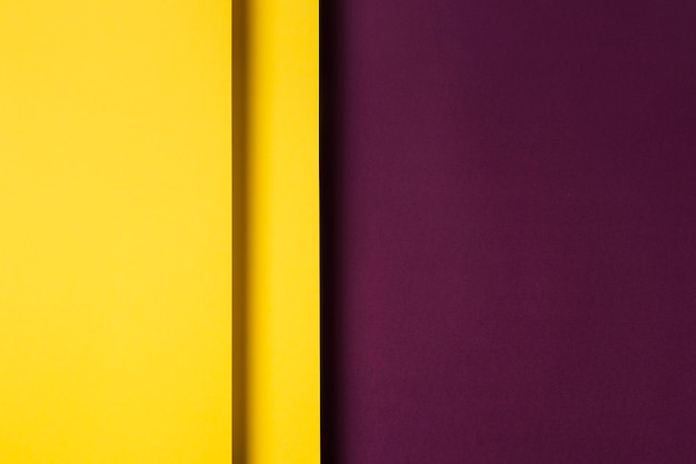 Assortimento di fogli di carta colorata Foto Premium