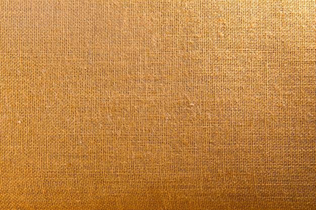 Priorità bassa e struttura di tela di sacco marrone naturale Foto Premium