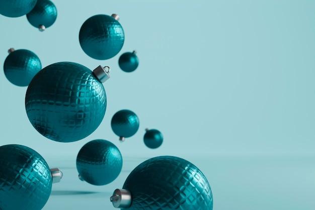 Bellissimo sfondo a tema natalizio Foto Premium