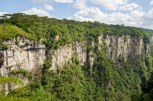 Bellissimo paesaggio del canyon Foto Premium