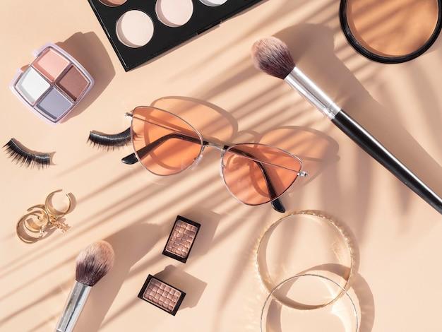 Prodotti cosmetici di bellezza Foto Premium