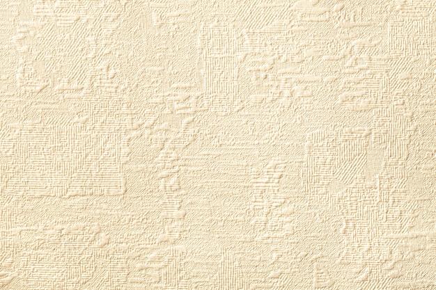 Sfondo beige con rilievo e trama ondulata. Foto Premium