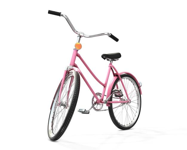 Rendering 3d di biciclette Foto Premium