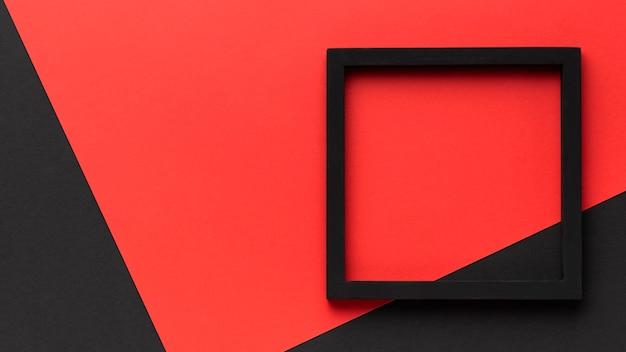 Cornice nera con copia-spazio Foto Premium