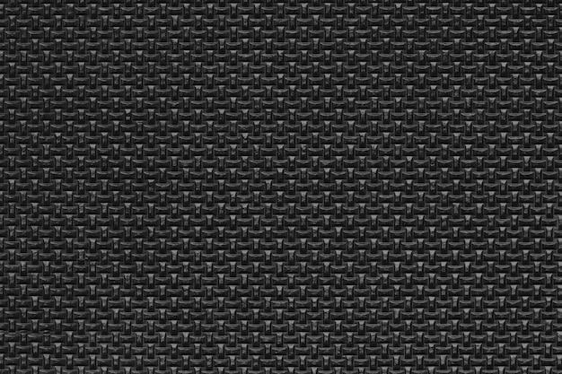 Sfondo texture gomma nera Foto Premium