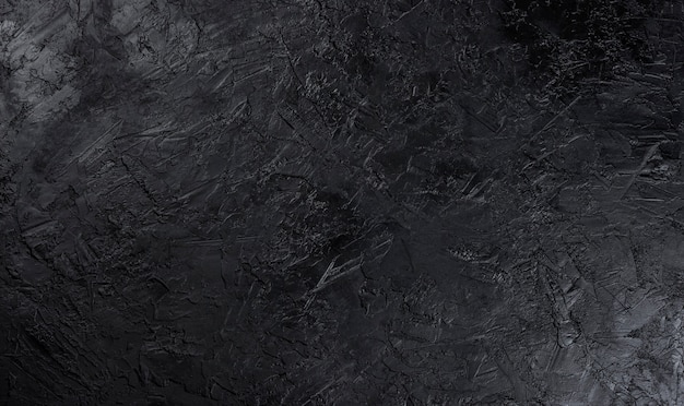 Superficie di pietra nera Foto Premium