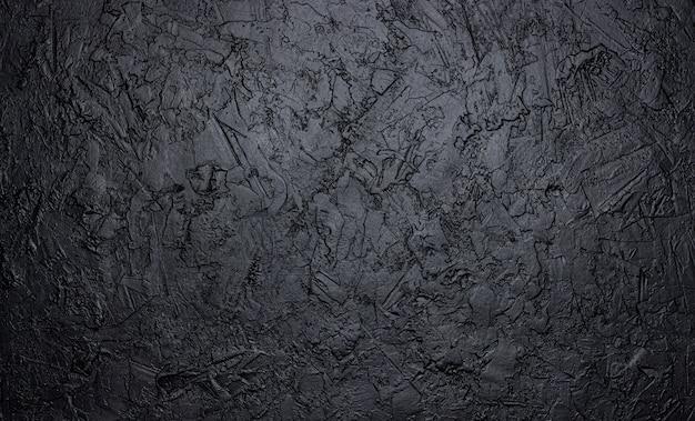 Texture pietra nera, sfondo scuro ardesia Foto Premium