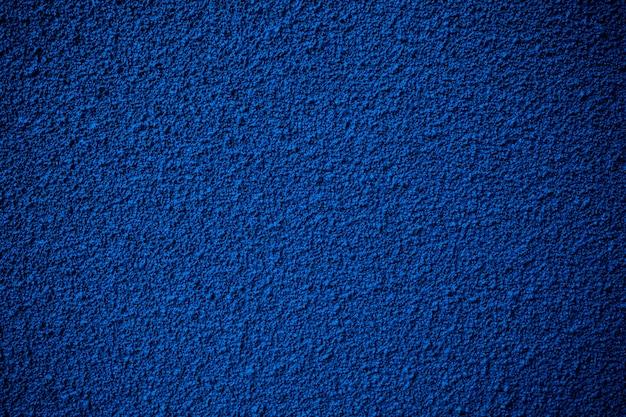 Fondo blu del mortaio, struttura del cemento Foto Premium