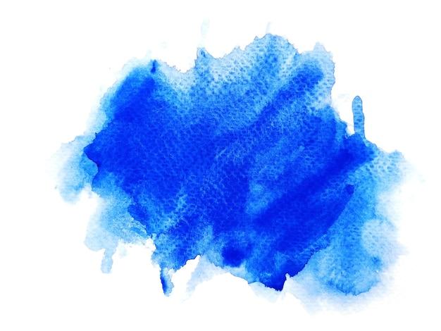 Sfondo acquerello macchia blu. Foto Premium