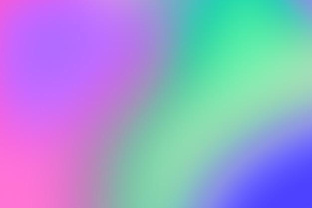 Sfondo astratto pop sfocato con vividi colori primari Foto Premium