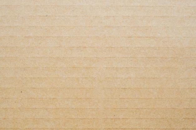 Fondo di struttura del foglio di carta del cartone riciclato eco marrone Foto Premium