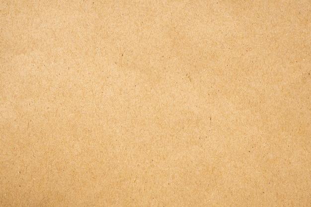 Priorità bassa del cartone di struttura del foglio di carta kraft riciclata eco marrone Foto Premium