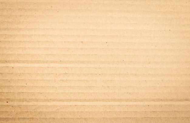 Scatola di carta marrone o struttura del foglio di cartone ondulato Foto Premium
