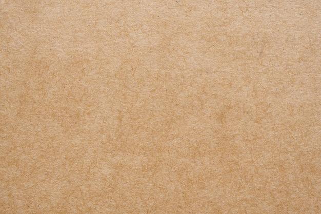 Fondo del cartone di struttura del foglio di carta kraft riciclato eco di carta marrone Foto Premium