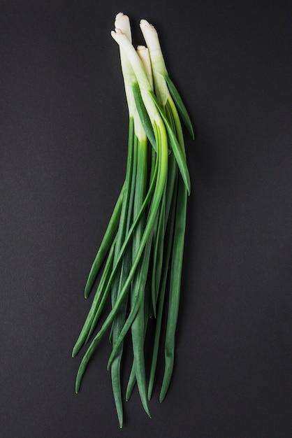 Grappolo di cipolla verde Foto Premium