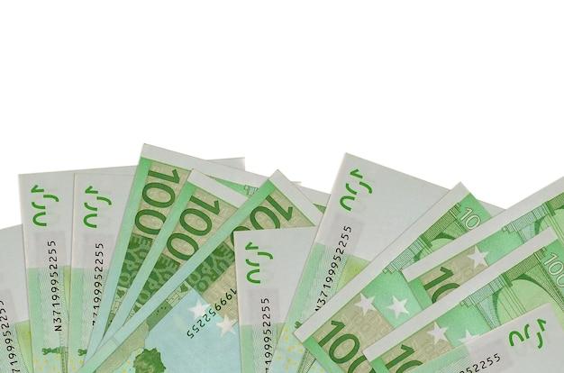 Banconote da un dollaro canadese su uno sfondo bianco Foto Premium