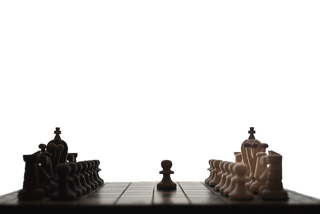 Aperture di scacchi Foto Premium
