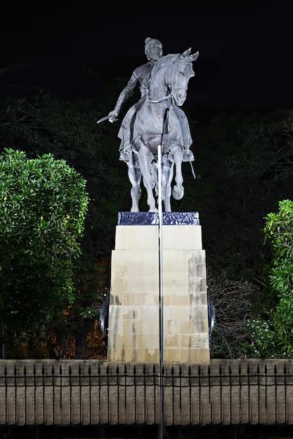 Statua di chhatrapati shivaji Foto Premium