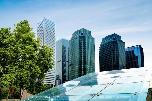 Gli edifici moderni di chongqing Foto Premium