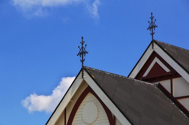 Chiesa a rotorua nuova zelanda Foto Premium