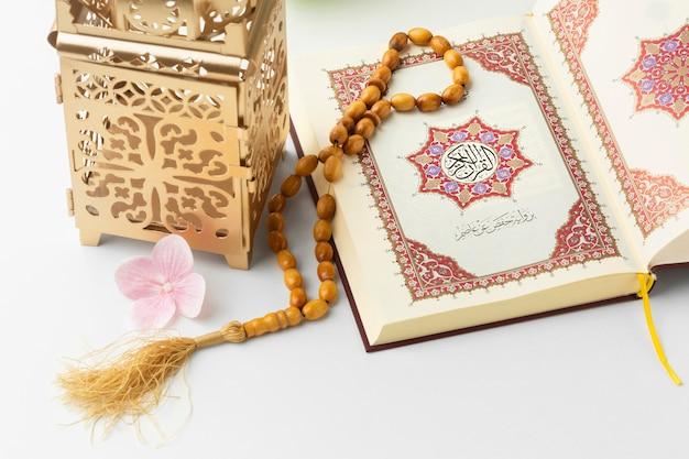 Concetto islamico del nuovo anno del primo piano Foto Premium