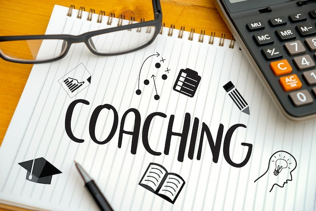 Coaching training planning Foto Premium
