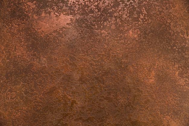 Aspetto di ruggine grossolana su metallo Foto Premium
