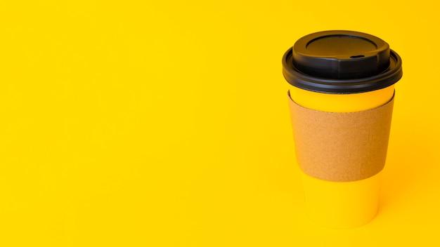 Tazza di caffè con copia-spazio Foto Premium