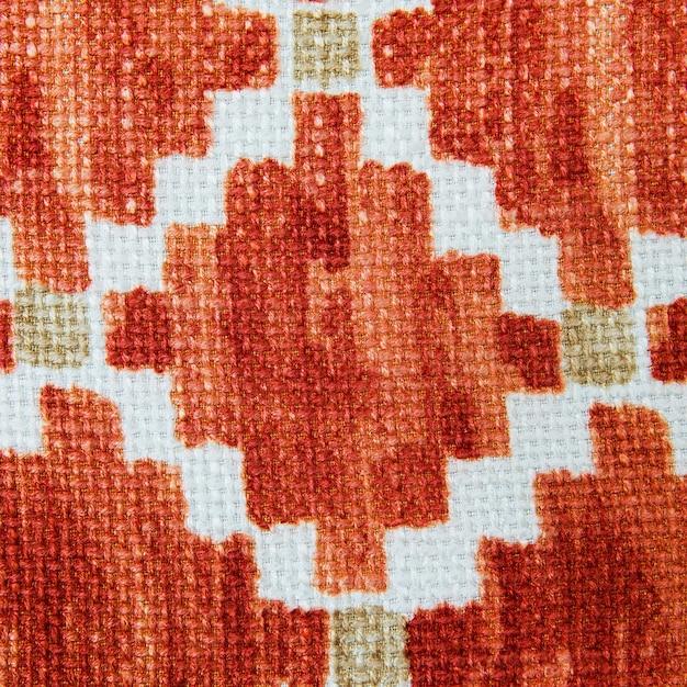 Fine variopinta della superficie della coperta di stile di stile peruviano africano su. Foto Premium
