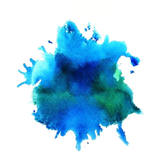 Sfondo colorato ad acquerello. pittura a mano di arte Foto Premium