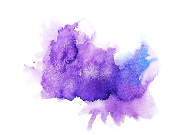 Sfondo acquerello colorato. pittura a mano d'arte Foto Premium