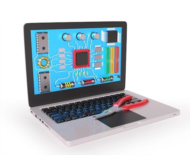 Servizio informatico Foto Premium