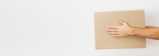 Pacchetto di consegna copia-spazio Foto Premium