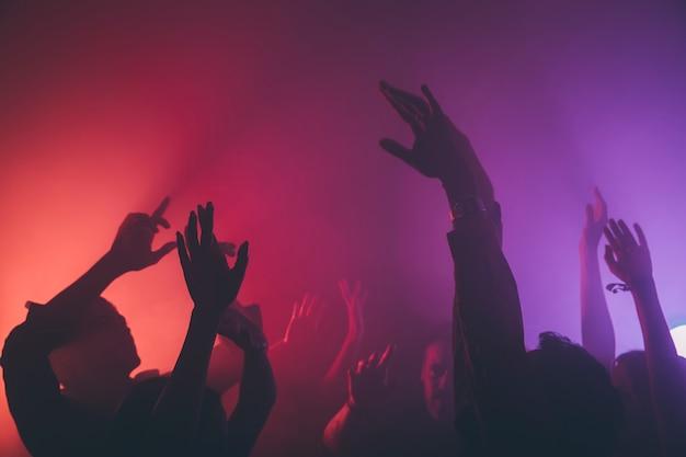 Folla nel club Foto Premium