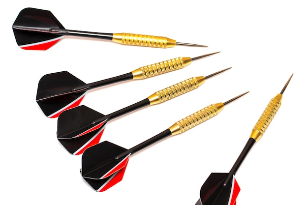 Freccette frecce isolate Foto Premium