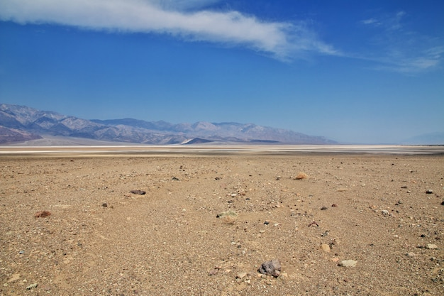 Death valley in california, usa Foto Premium