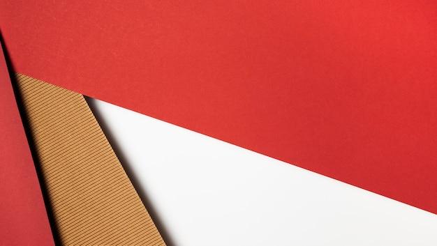 Diversi colori di carta disegno astratto Foto Premium