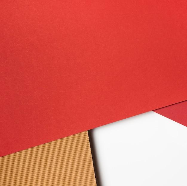 Diversi colori di carta copia spazio Foto Premium