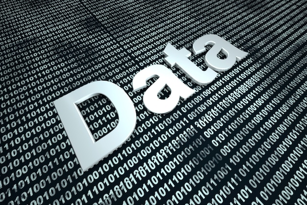 Dati digitali. Foto Premium