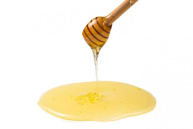 Merlo acquaiolo con miele in mano della donna. Foto Premium