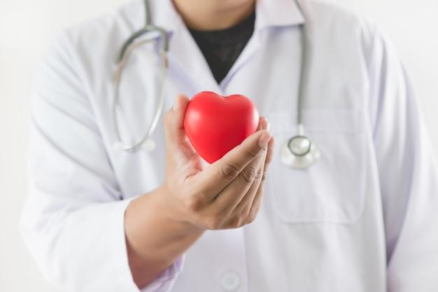 Doctor healthcare e assicurazione medica per la famiglia e csr Foto Premium