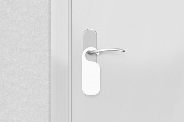 Pomolo per porta con cambiavetro vuoto Foto Premium