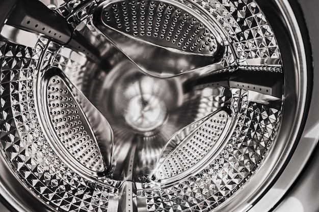 Tamburo della lavatrice Foto Premium