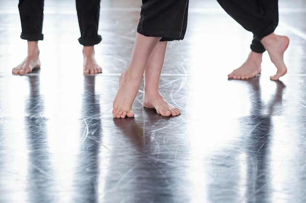 Piedi di ballerini Foto Premium